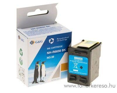 HP 6656 (No. 56) tintapatron komp. G&G GGH6656 HP OfficeJet 4215 tintasugaras nyomtatóhoz