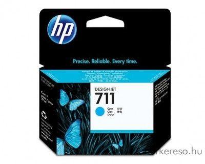 HP 711 eredeti cyan tintapatron CZ130A HP Designjet T120 tintasugaras nyomtatóhoz