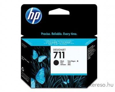 HP 711 eredeti fekete black tintapatron CZ129A HP Designjet T120 tintasugaras nyomtatóhoz