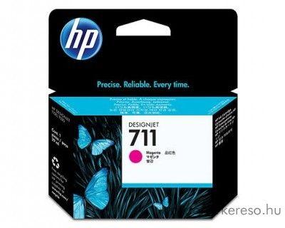 HP 711 eredeti magenta tintapatron CZ131A HP Designjet T520 tintasugaras nyomtatóhoz