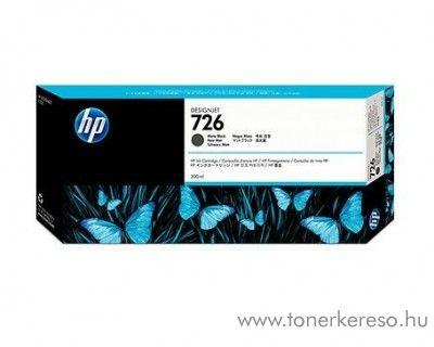 HP 726 eredeti matt fekete black tintapatron CH575A