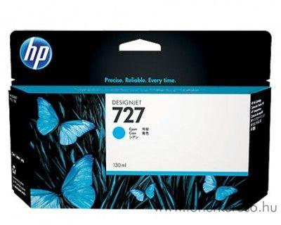 HP Designjet T2500 (727) eredeti cyan tintapatron B3P19A HP Designjet T2500 tintasugaras nyomtatóhoz
