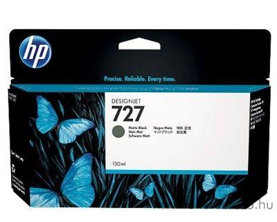 HP Designjet T2500 (727) eredeti matte black tintapatron B3P22A HP Designjet T2500 tintasugaras nyomtatóhoz