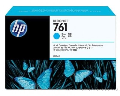 HP 761 eredeti cyan tintapatron CM994A HP Designjet T7100 tintasugaras nyomtatóhoz