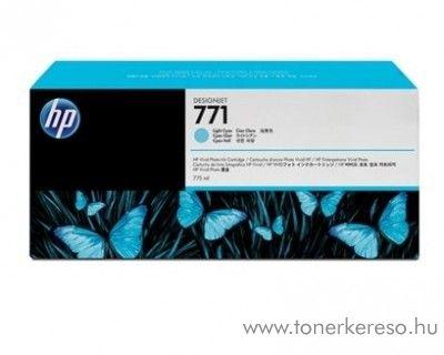 HP 771 eredeti light cyan tintapatron CE042A HP DesignJet Z6200 tintasugaras nyomtatóhoz