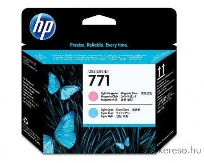 HP 771 eredeti light magenta és light cyan nyomtatófej CE019A