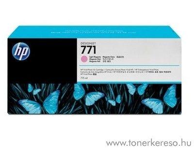 HP 771 eredeti light magenta tintapatron CE041A