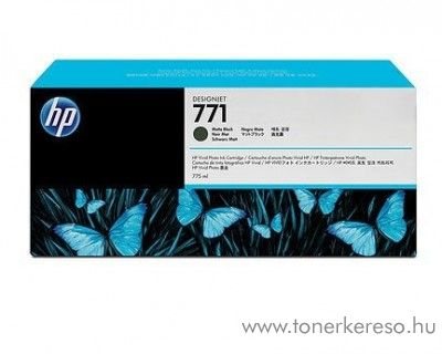 HP 771 eredeti matt fekete black tintapatron CE037A