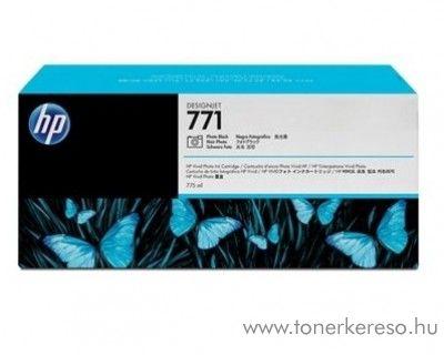 HP 771 eredeti photo fekete black tintapatron CE043A
