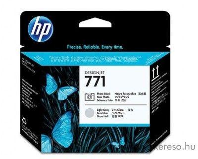 HP 771 eredeti photo fekete és light grey nyomtatófej CE020A