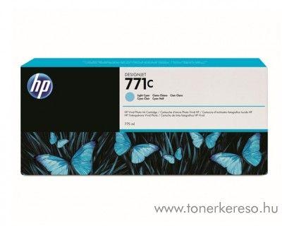 HP 771LC eredeti light cyan tintapatron B6Y12A