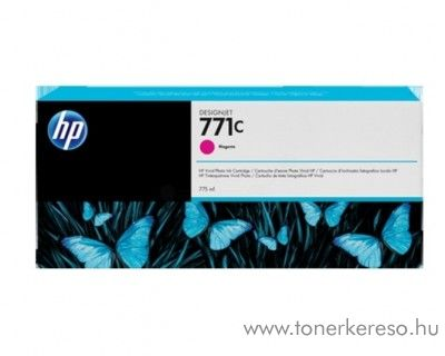 HP 771M eredeti magenta tintapatron B6Y09A