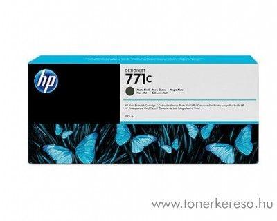 HP 771MBK eredeti matt fekete black tintapatron B6Y07A