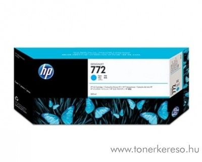 HP 772 eredeti cyan tintapatron CN636A HP Designjet Z5200PS tintasugaras nyomtatóhoz