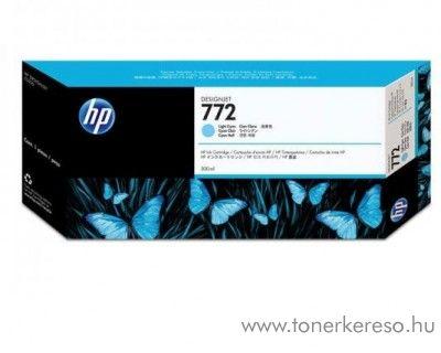 HP 772 eredeti light cyan tintapatron CN632A HP Designjet Z5200PS tintasugaras nyomtatóhoz