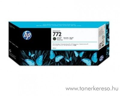 HP 772 eredeti matt fekete black tintapatron CN635A