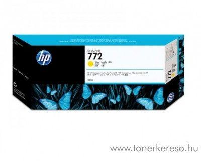 HP 772 eredeti yellow tintapatron CN630A
