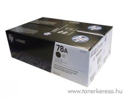 HP 78A eredeti fekete black dupla toner CE278AD