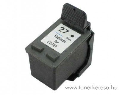 HP 8727 (No. 27) utángyártott fekete tintapatron FUH8727