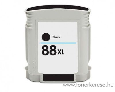 Hp 88XL fekete utángyártott tintapatron (C9396)
