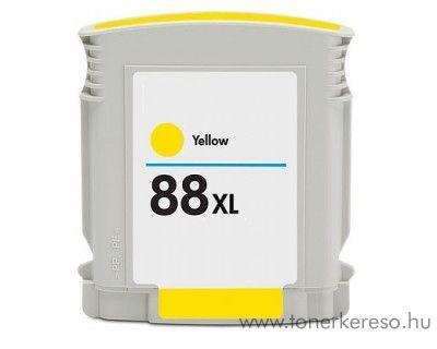 Hp 88XL yellow utángyártott tintapatron (C9393)