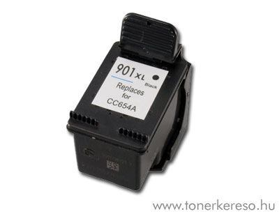 HP CC654 901XL fekete kompatibilis tintapatron G-Ink