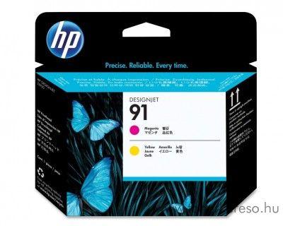 HP 91 eredeti magenta és yellow nyomtatófej C9461A HP Designjet Z6100ps tintasugaras nyomtatóhoz