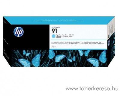 HP 91 eredeti vivera light cyan tintapatron C9470A HP Designjet Z6100ps tintasugaras nyomtatóhoz
