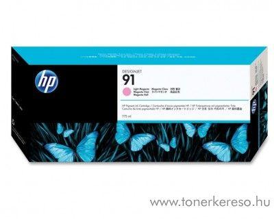 HP 91 eredeti vivera light magenta tintapatron C9471A HP Designjet Z6100ps tintasugaras nyomtatóhoz