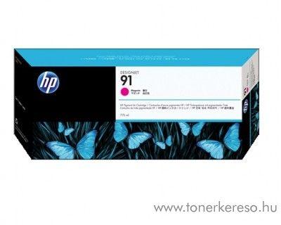 HP 91 eredeti vivera magenta tintapatron C9468A HP Designjet Z6100 tintasugaras nyomtatóhoz