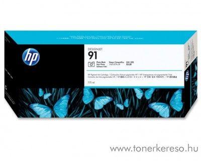 HP 91 eredeti vivera photo fekete black tintapatron C9465A HP Designjet Z6100ps tintasugaras nyomtatóhoz