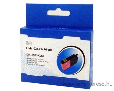 HP 933XLM magenta nagykapacitású kompatibilis tintapatron