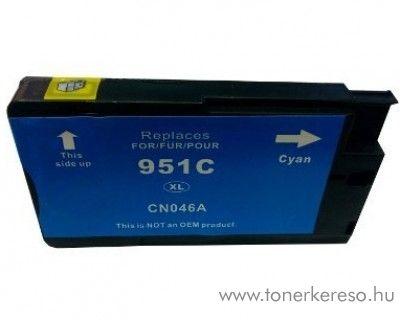 HP 951CXL (CN046AE) cyan nagykapacitású kompatibilis tintapatron HP OfficeJet Pro 251dw tintasugaras nyomtatóhoz