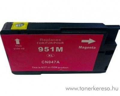 HP 951MXL (CN047AE) magenta nagykapacitású kompatibilis tintapat HP OfficeJet Pro 251dw tintasugaras nyomtatóhoz