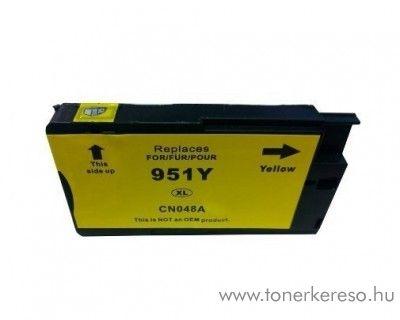 HP 951YXL (CN048AE) yellow nagykapacitású kompatibilis tintapatr HP OfficeJet Pro 251dw tintasugaras nyomtatóhoz