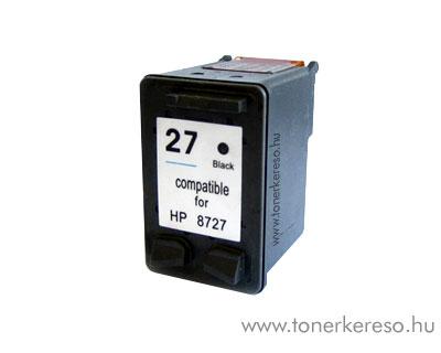 HP 8727 (No. 27) utángyártott fekete tintapatron GIH8727 HP OfficeJet J5508 tintasugaras nyomtatóhoz
