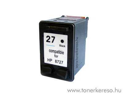 HP 8727 (No. 27) utángyártott fekete tintapatron GIH8727 HP Deskjet 3744 tintasugaras nyomtatóhoz