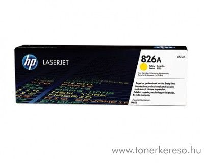 HP  M850/855dn (826A) eredeti yellow toner CF312A HP Color LaserJet Enterprise M855x