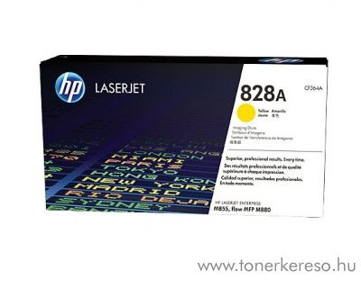 HP  M850/855dn (828A) eredeti yellow drum CF364A