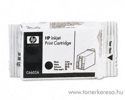 HP általános eredeti fekete black tintapatron C6602A
