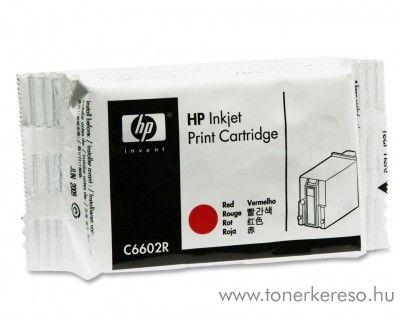 HP általános eredeti red tintapatron C6602R