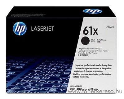 HP C8061X toner HP LaserJet 4100 DTN lézernyomtatóhoz