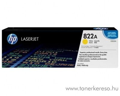HP C8552A (No 822A) yellow toner