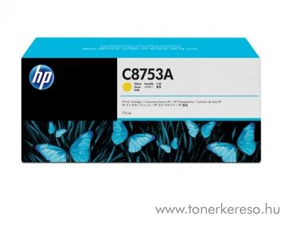 HP C8753A eredeti vivera yellow tintapatron C8753A HP CM8050 MFP tintasugaras nyomtatóhoz