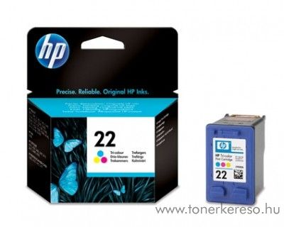 HP C9352AE (No. 22) tintapatron  	 HP Deskjet F2200 All-in-One Series tintasugaras nyomtatóhoz