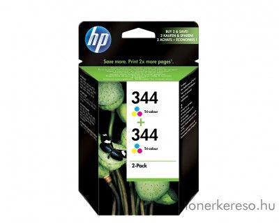 HP C9505E 2 x (No. 344) tintapatron HP PSC 1600 tintasugaras nyomtatóhoz