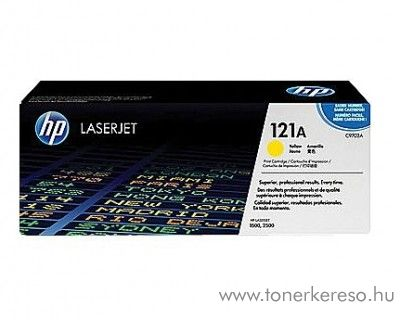 HP C9702A (No 121A) yellow toner