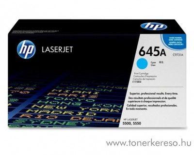 HP C9731A (No 645A) cyan toner HP Color LaserJet 5500 lézernyomtatóhoz