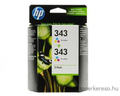 HP CB332EE dupla 343 tintapatron kedvezményesen HP Deskjet 5745 tintasugaras nyomtatóhoz