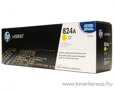 HP CB382A (No 824A) yellow toner